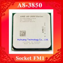 Lifetime warranty A8 3850 2.9GHz 4M Quad Core desktop processors AD3850 CPU Socket FM1 905 pin Computer