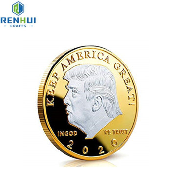 2019  Custom 3D people logo antique gold/gold /bronze metal stamping souvenir challenge coins
