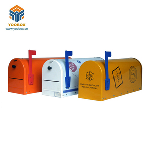 Outdoor Metal Parcel Mailbox,New Design Metal Mailbox For Letters