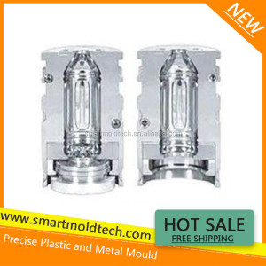 Glass wine bottle cast iron mould design