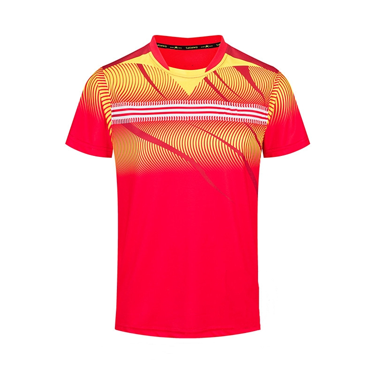 High quality badminton sublimation jersey shirts design badminton jersey