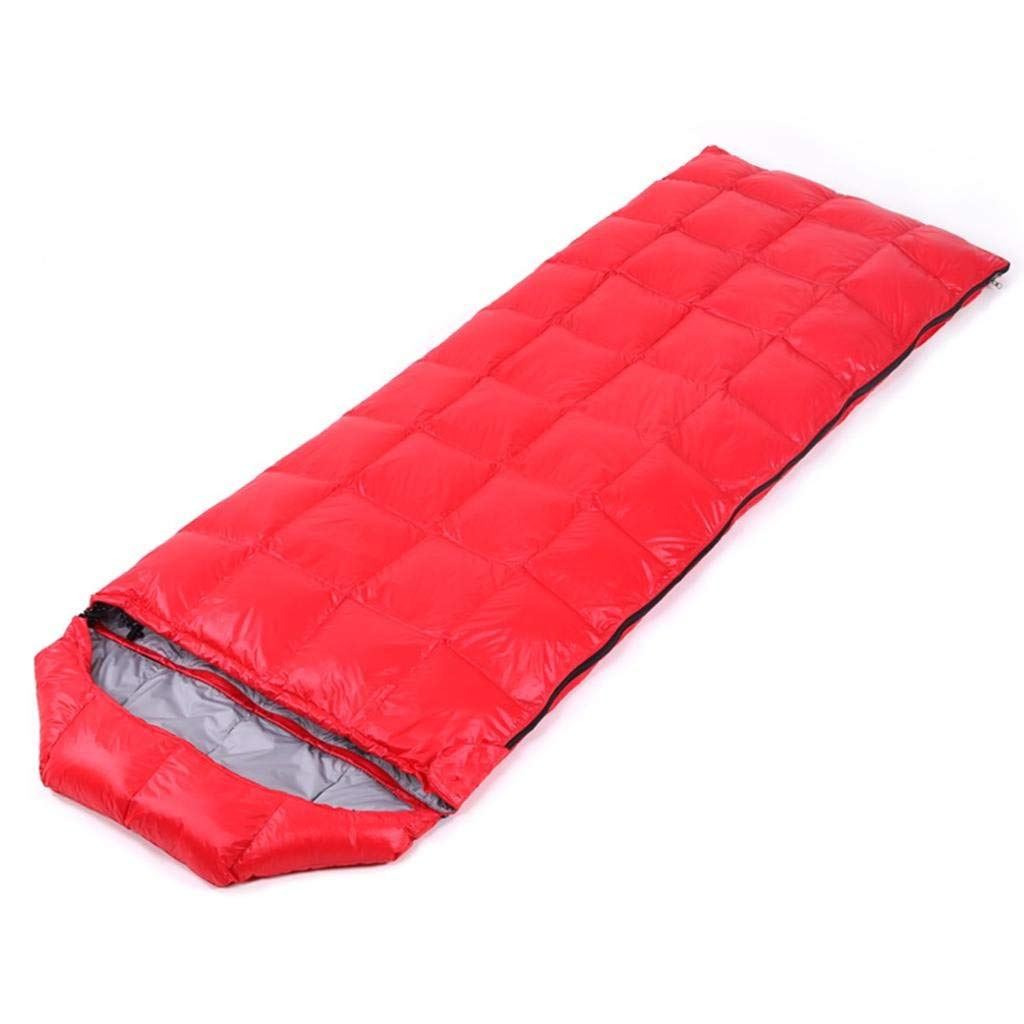 Sleeping Bags Sports & Entertainment Ultra Light Down Sleeping Bag Adult Outdoor Camping Duck Down Sleeping Bag Autumn/winter Warm Splice Warm Hammock Double Zipper