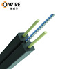 Fast supply speed FTTH drop cable indoor or outdoor 8 core optical fiber cable roll