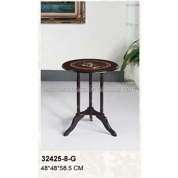 32425 8 G Antique Round End Table