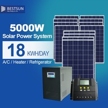 5kw-8 kw solar home system complete set with inverters, batteries controllers sun energy take the load