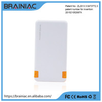 2 USB phone charger small power bank plant 5000mah