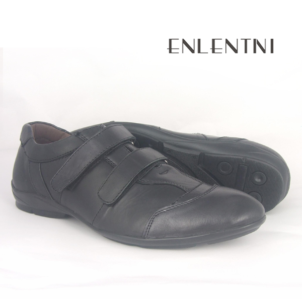 leather black comfortable factory shoes men shoes casual Fashion for men running ACH6wq7