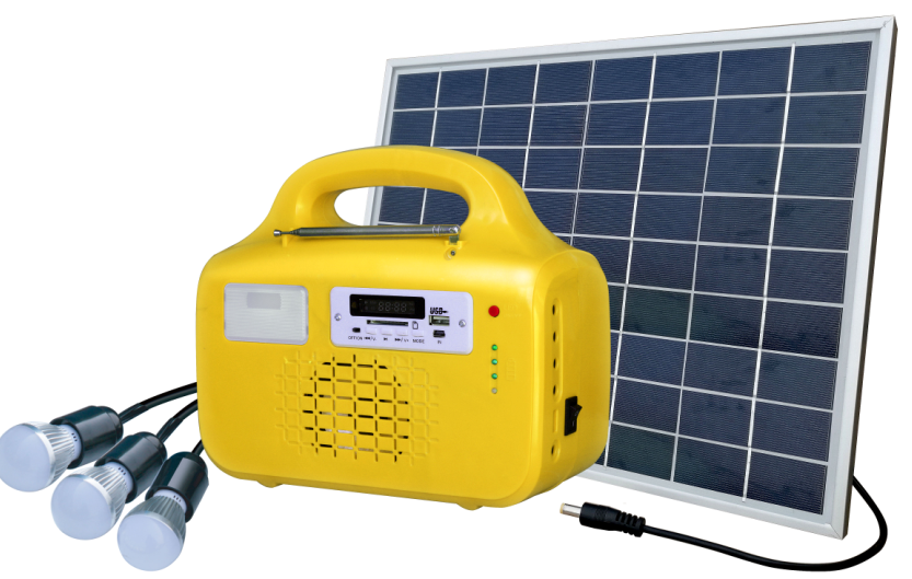 sf-1210p CE approved portable solar light solar kits with 3*3W LED lamps and mobile charching