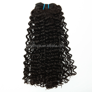 No shedding top quality Indian remy kinky curly braid in weave braid in human hair bundles