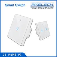 1 2 3 gang 1 way app wireles remote control programmable digital led light timer siwtch
