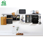 HOMESHOW wall mounted multifunction kitchen organizer