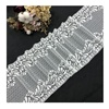 2019 Swiss Bridal Vintage Thick Elastic Tulle Lace Trim Fabric For Dress