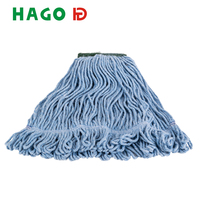 350g floor cleaning plastic socket cotton microfiber mop clip refill, mops head manufacturers