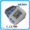 low price promotion sejoy brand large lcd display blood pressure monitor upper arm