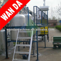 used tire refining oil machine