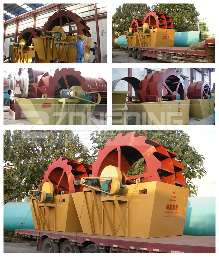 Mobile sand washer gold washing machine artificial sand washing equipment in China