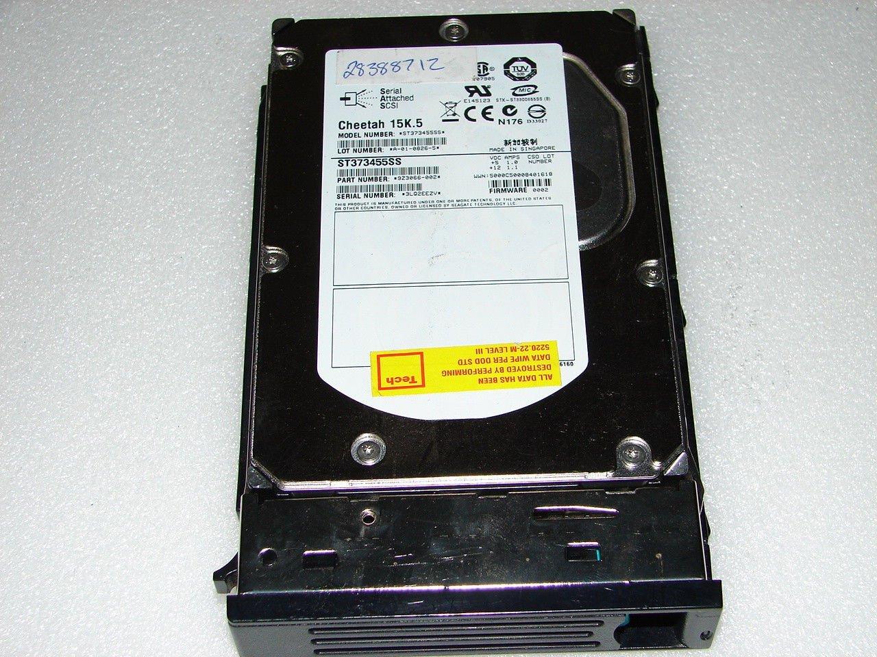 Dell C5711 73GB U320 15K SCSI PowerEdge Hard Drive in Tray