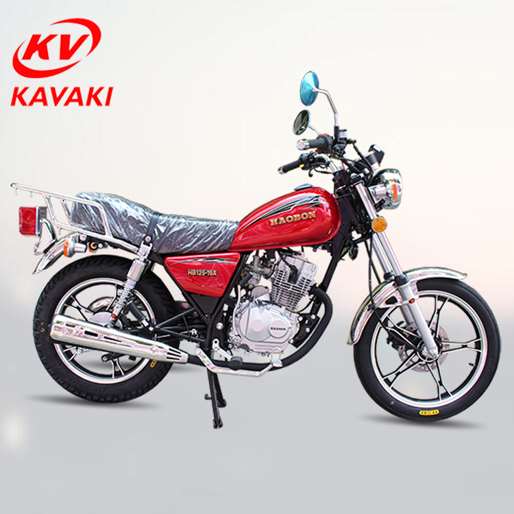 Guangzhou kavaki factory export Gasoline CG 125 GN125 150CC 125CC motorcycle/motorbike/classic motorcycle