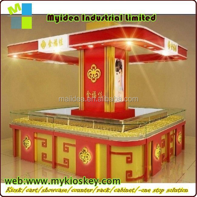 Hot sale counter top display showcases for jewelry shop car audio display stand