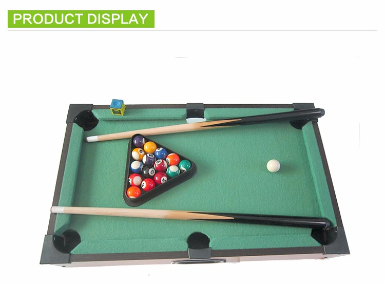 Colored International Excellent Quality Table Billiard For Party
