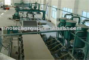 Automatic-asbestos free fiber cement board production line