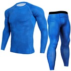 cheap Wholesale Sports new fitness men's gym suit workout running pants sports leggings t shirts