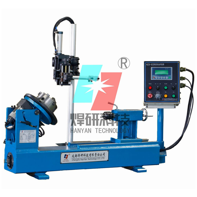 HGT-3C automatic pipe/cylinder welding machine lathe machine small welding machine price