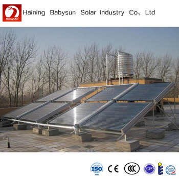 Low pressure evacuated tube high temperature solar thermal collector