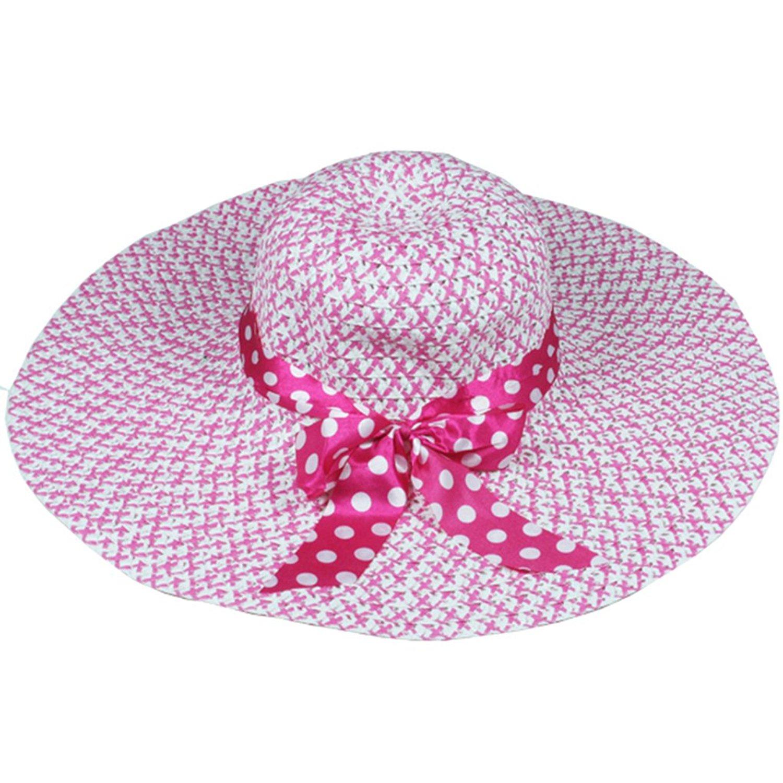 Silver Fever Women Summer Fancy Sun Hat Fits All