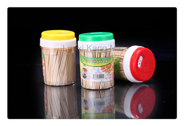 hot sales organic bamboo stick  double points bamboo toothpicks