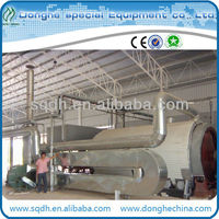 used tires/rubber pyrolysis machine recycling equipment with CE/ISO and 8-10T/D capacity