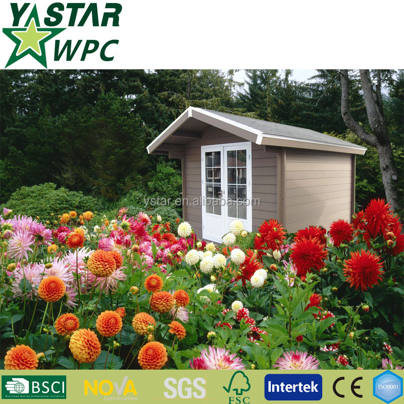 leisure storage composite wooden house