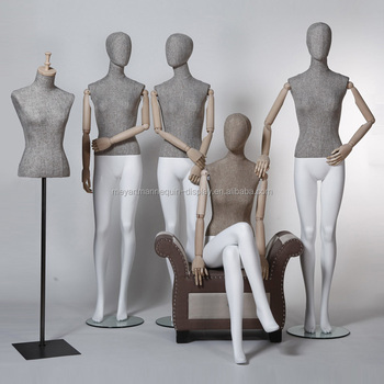 High quality wooden arms female mannequins, manikin
