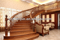 wood stairs Newel Post inspection service and quality control of LJXWOOD in china.