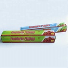 Clear Soft Plastic Stretch Cling Film Food Grade PE Stretch Film