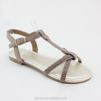 Simple Latest Style Girls Fancy Sandals
