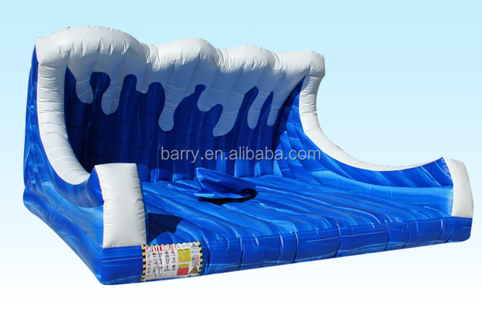 Cheap price inflatable mechanical surf sport surfboard