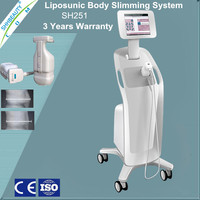 576 points! Non-invasively advanced ultrasound technology lipohifu for body fat burning