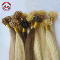 7A Grade High Quality Wholesale Double Drawn Prebonded Hair Extension