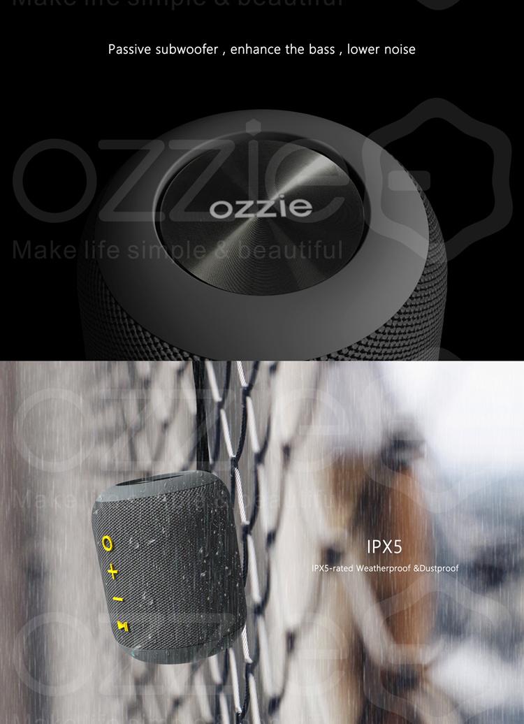 Maglev New Ewa a103 - Alto-falante sem Fio Bluetooth Portátil para Chuveiro Mini Microfone Embutido - Avançada Tecnologia de Aprimoramento de Baixo