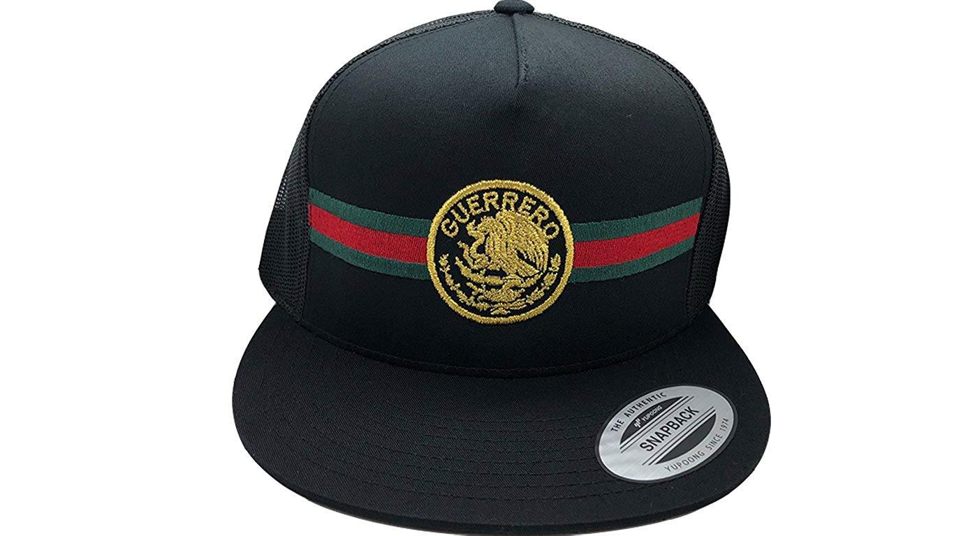 0a3e77723a9f6e Get Quotations · The World Of Hats Guerrero Diseno Moderno Snapback Mesh  Yupoong