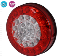 LED Round tail / stop / turn signals light lamp for truck / trailer