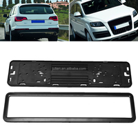 European Custom Style ABS Plastic License Plate Holder Frame