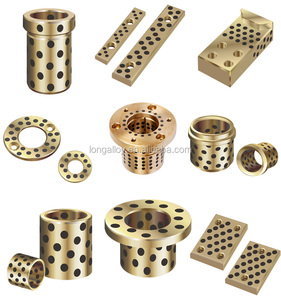 Lead Bronze flanged bushing for petroleum machinery part