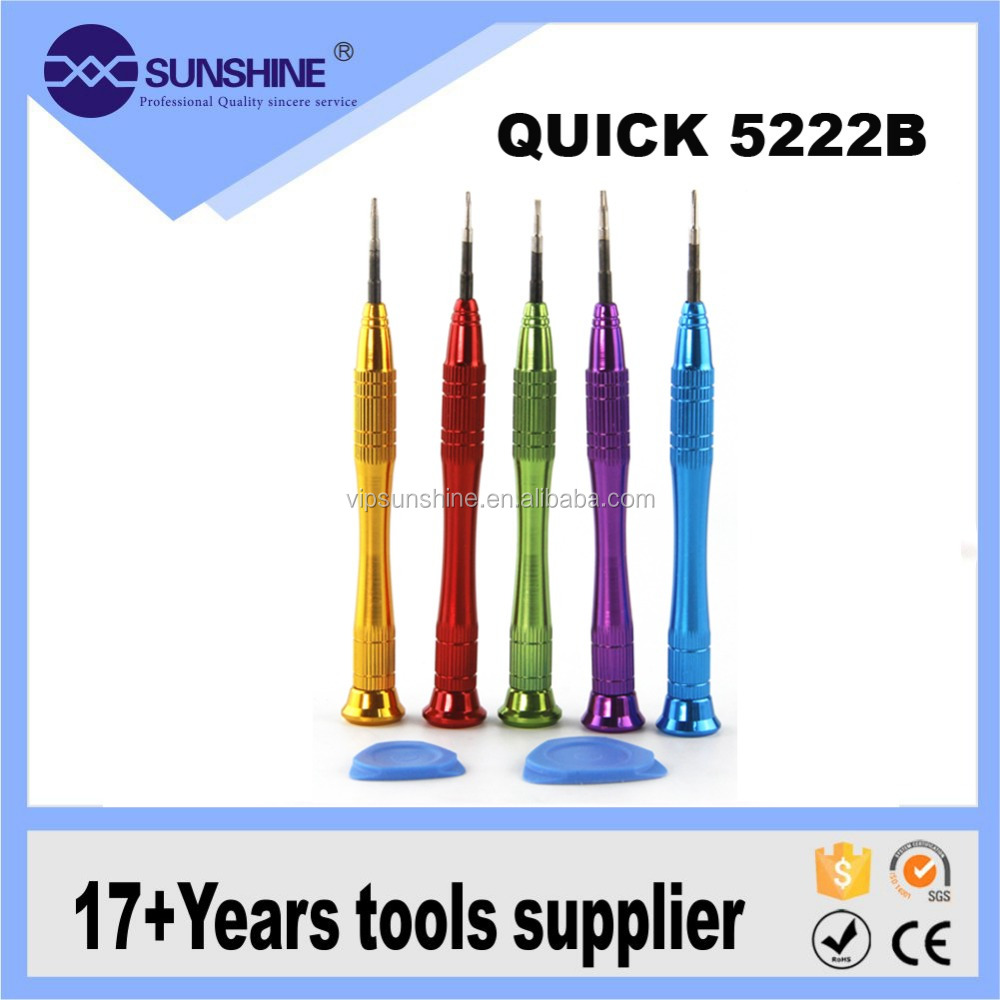 QK 5222B Cell Phone Screwdriver Pen Set Repair Tools For Apple And Samsung