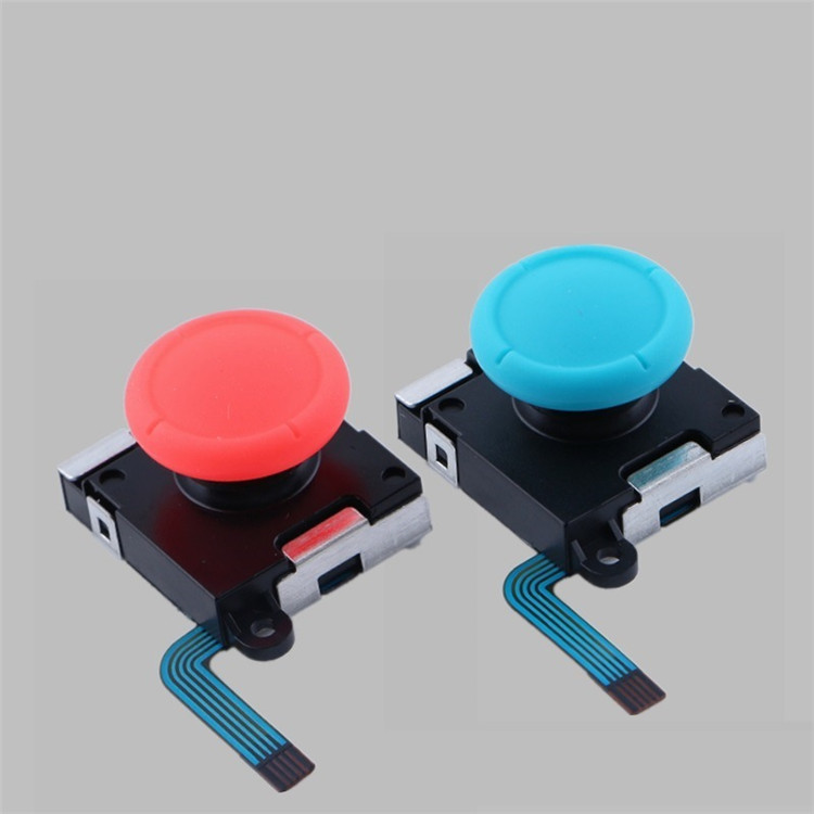 SYYTECH Black Red Blue White Game Controller Replacement Thumb stick Rocker 3D Joystick for Nintendo Switch Joy-con