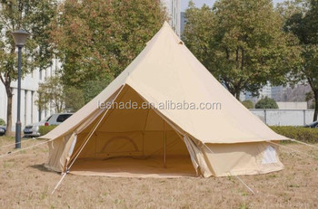 Gl&ing bell tent for Outdoor c&ing 100%cotton canvas & Glamping Bell Tent For Outdoor Camping 100%cotton Canvas - Buy ...