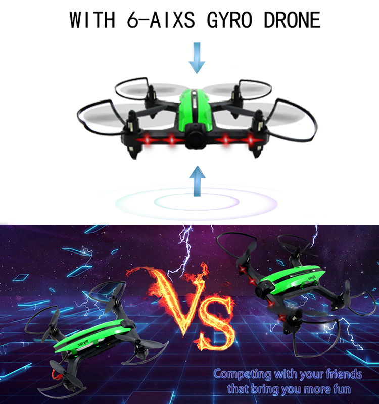 7. T18D_Green_Racing_Drone_with_Altitude_Hold_WIFI_FPV_RC_Drone