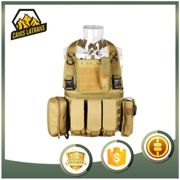 High Strength Nylon Tactical Body Armor Military Bulletproof Vest