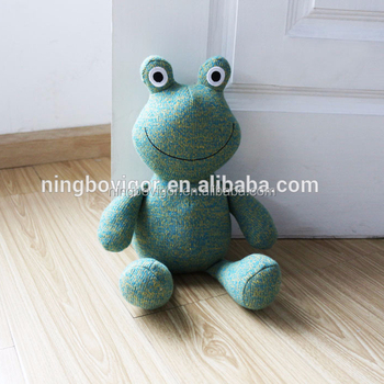 Frog Shaped Stuffed Animal Door Stop Bean Bag Door Stop Buy